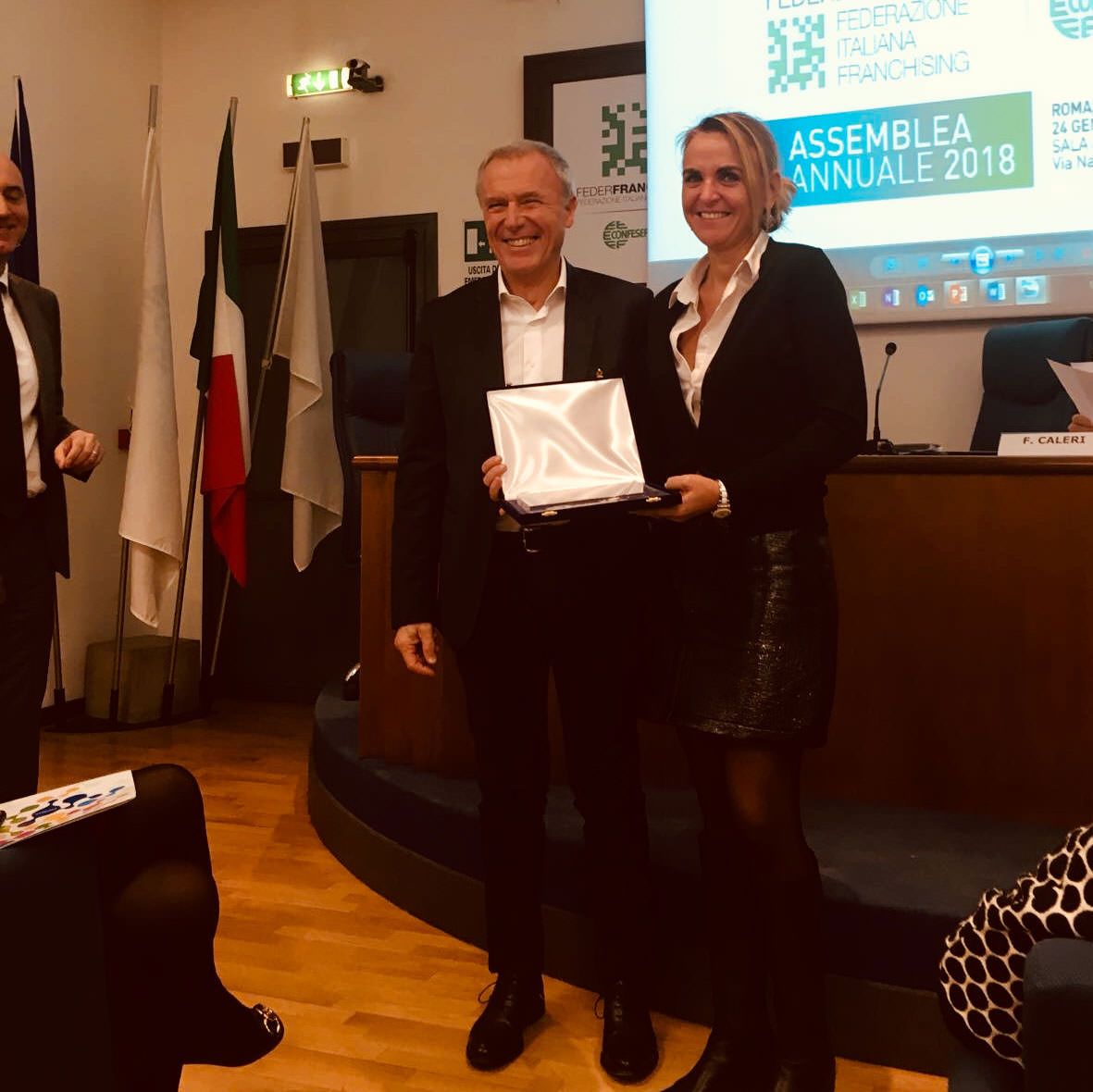 Best Master Franchise 2018 for our franchisee in Italy