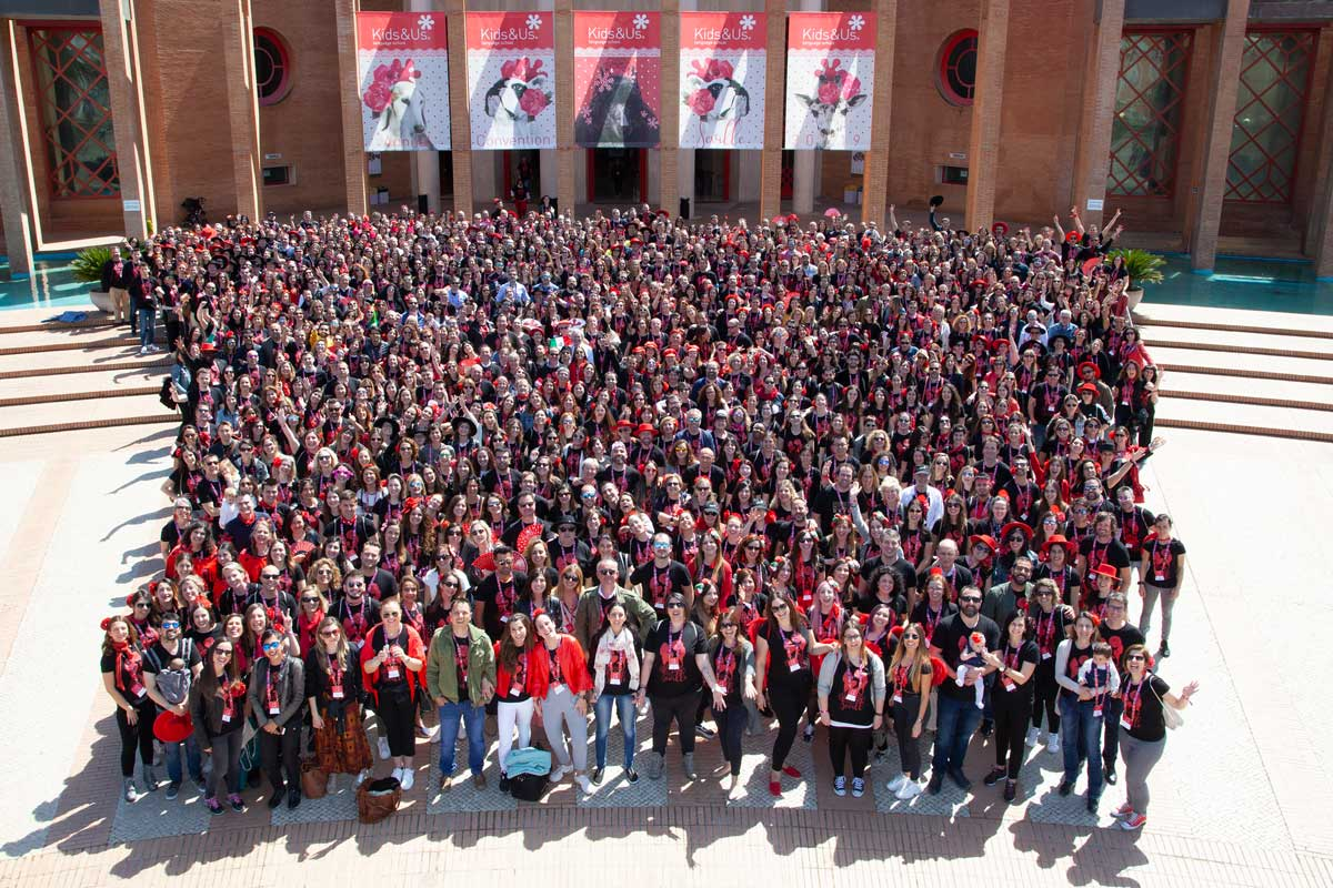 Kids&Us brings together 1,000 people in Seville