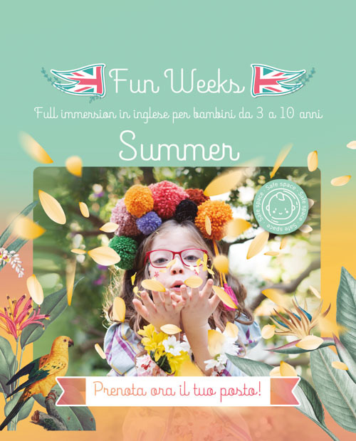 Scopri le Fun Week di Kids&Us